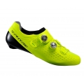 Shimano RC9 Yellow Road Shoes